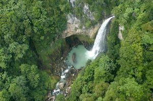 one of dozens of waterfalls