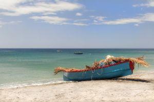 Fishing boat in Mero